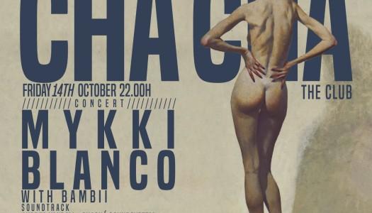 ¡Mykki Blanco esta noche en Chá Chá the Club de Madrid!