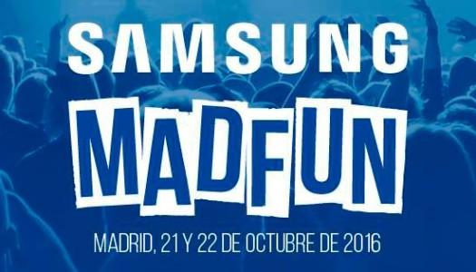 ¡Ya llega el festival Samsung MadFun!