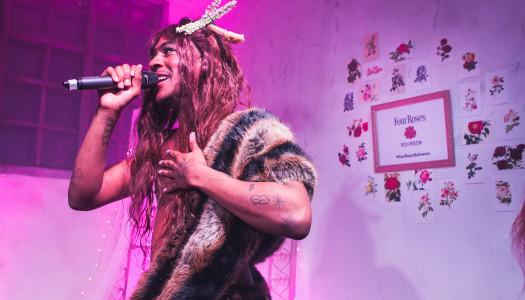 Mykki Blanco en #FourRosesHalloween