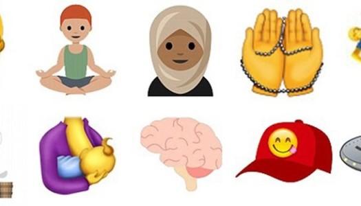 ¡Hijab convertido en emoji!