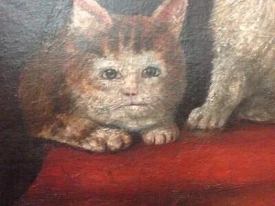 ¡Así pintaban a los gatos en la Edad Media!