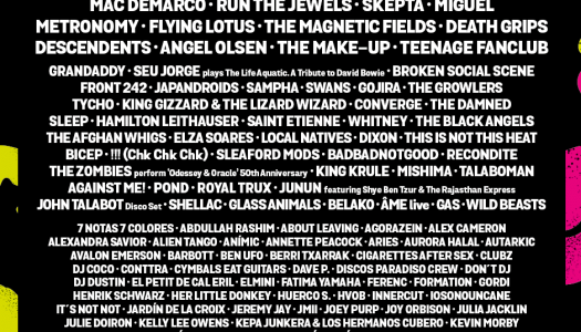 ¡Ya tenemos el cartel del Primavera Sound 2017!