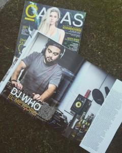 DJ WHO? para CARAS CHILES