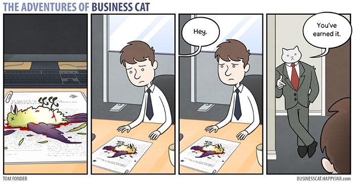 gatos dibujos comics  (8)