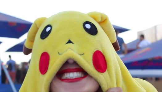 Plaga de Pikachus en el Arenal Sound 2016
