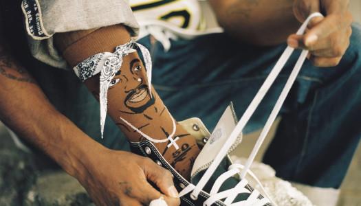 ¿Tupac? ¿Te suena el famoso rapero? Ahora puedes llevarlo en los pies