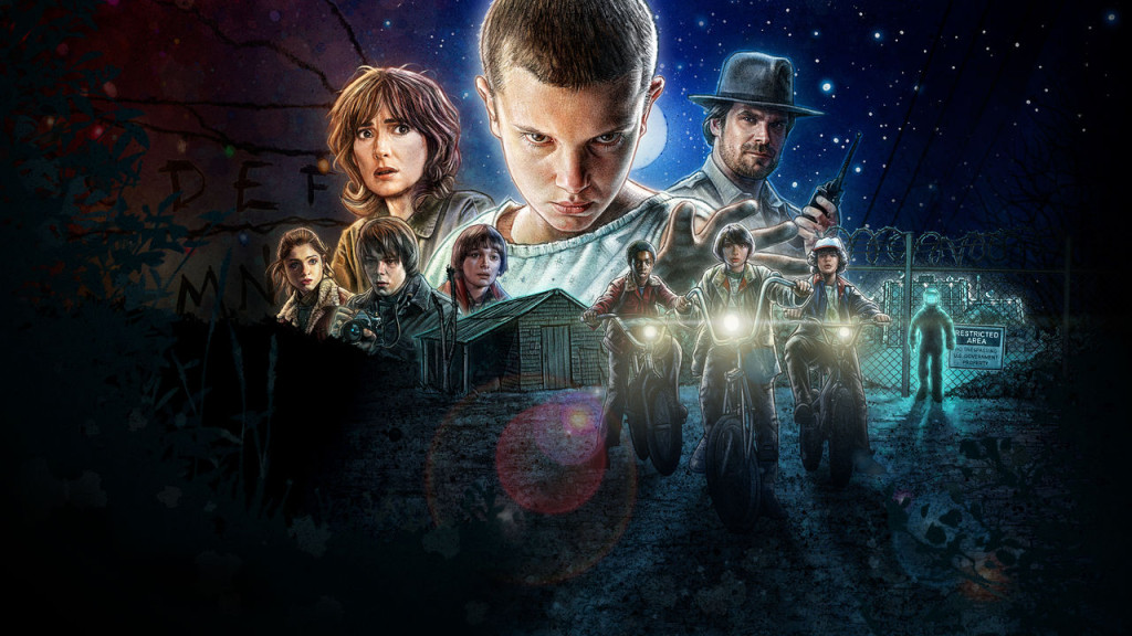 Póster-Stranger Things