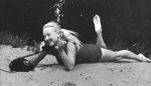Nunca ha sido fácil ser modelo y menos bajo el agua