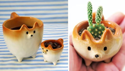 Shiba Uni, cerámicas bonitas y cuquis desde Japón