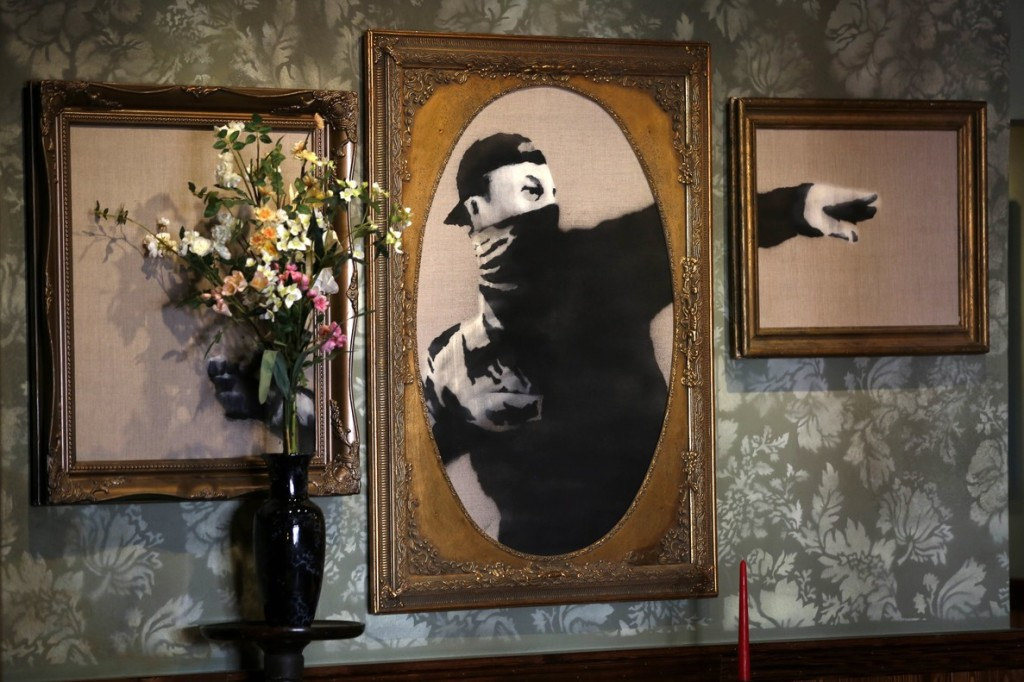 Banksy created Walled Off Hotel in Bethlehem