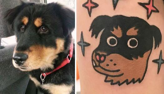 Tatuarte a tu mascota, la nueva moda