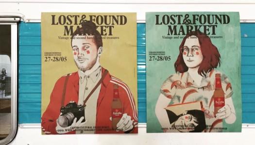 El mercadillo vintage Lost&Found Market vuelve el 27 y 28 de mayo en Conde Duque
