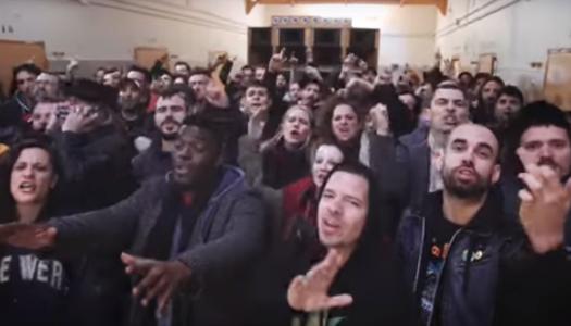 """""""Los Borbones son unos ladrones"""", la canción viral interpretada por 13 raperos que defienden la libertad de expresión"""