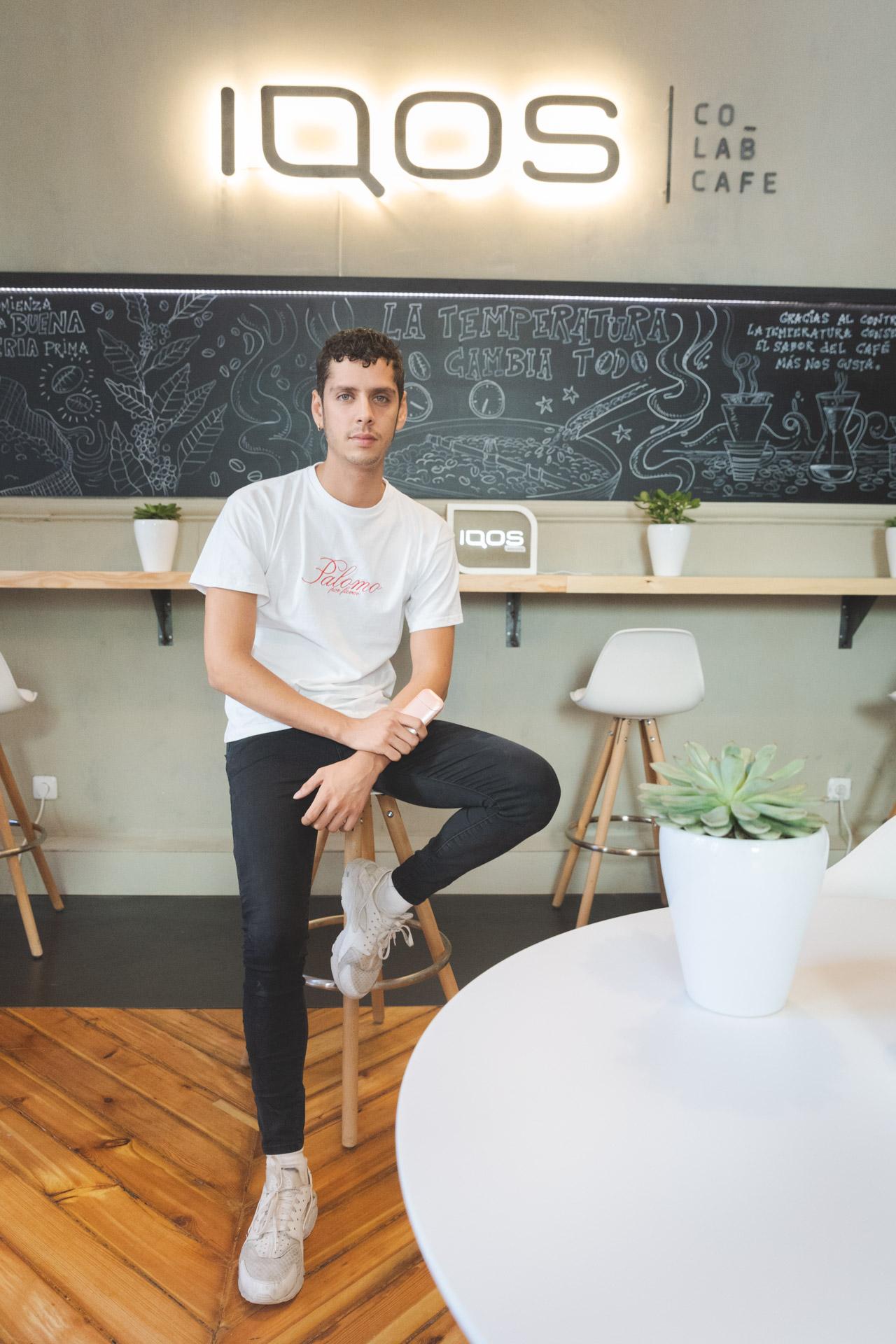 Eduardo Casanova Presenta El Nuevo Coworking By Iqos En El