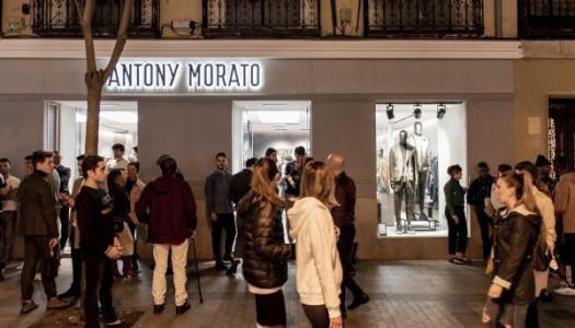 Antony Morato celebró así el primer aniversario de su flagship store en Madrid