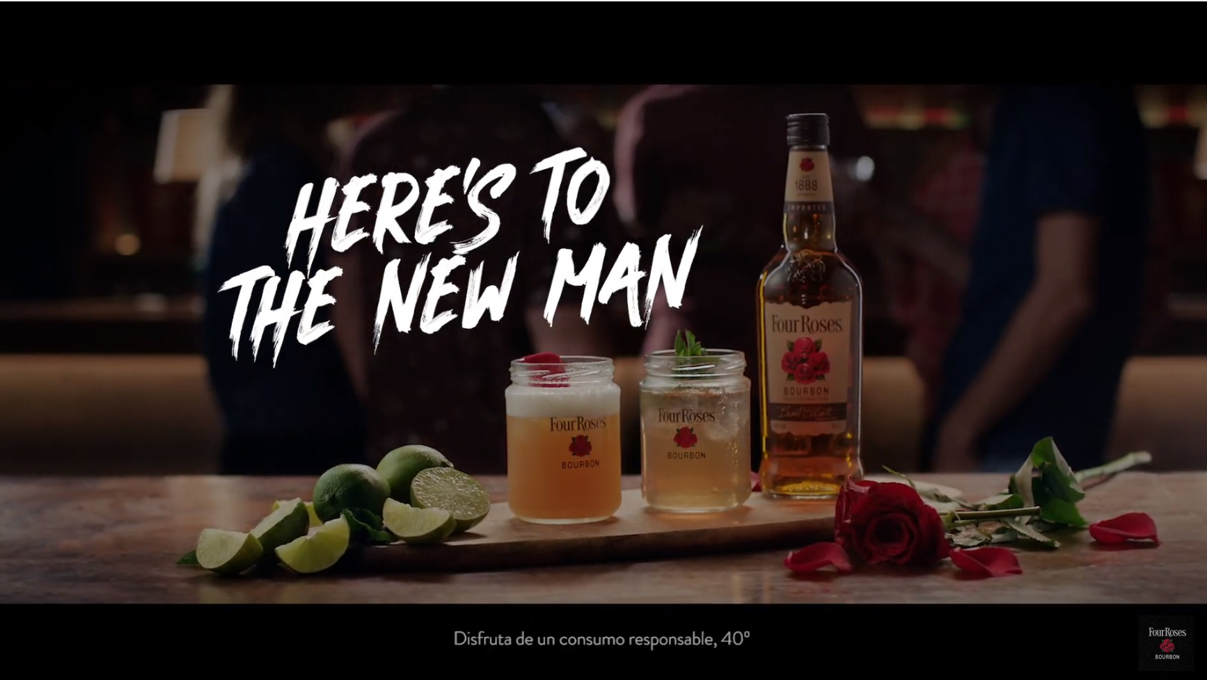 ofensiva-Four-Roses-Bourbon-Heres-the-New-Man-programapublicidad-muy-grande