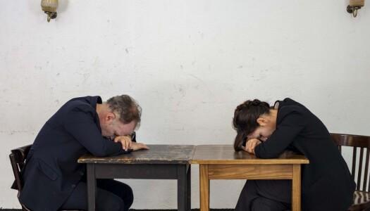"""Los que Hablan, la """"charla"""" entre Malena Alterio y Luis Bermejo en el teatro de la Abadía"""