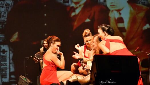 El grupo argentino 'La Porteña' presenta su nuevo espectáculo 'Alma de Bohemio'