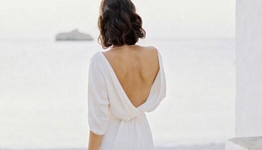 Cómo llevar espaldas abiertas sin sujetador