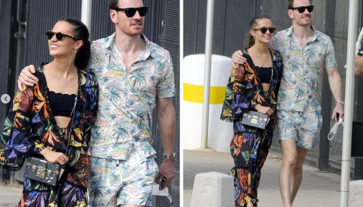 Alicia Vikander se pasea por Ibiza vestida con moda española
